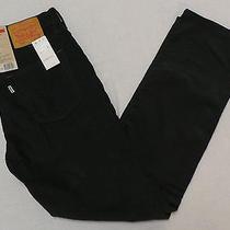Nwt Levi's 514 Men's Straight Fit Corduroy Pants Size 32 X 32 Graphite Photo