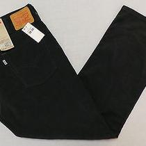 Nwt Levi's 514 Men's Straight Fit Corduroy Pants Size 38 X 30 Graphite Photo