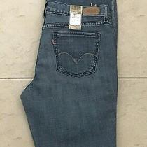 Nwt Levi's 515 Mid-Rise Boot Cut Women's Blue Jeans Size 12 Misses (34x31) Photo
