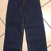 Nwt Levi's 550 Relaxed Fit Boy's Denim Jeans Size 12 Slim - Bb30 Photo