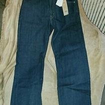 Nwt Levis 550 Relaxed Fit Tapered Leg Men's Blue Jeans Size  34 X 34 Photo