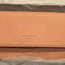 Nwt Liebeskind Blush Pink Vintage Leather Zip Around Wallet Photo