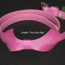Nwt Lilly Pulitzer Bow Tie Pink Belt M/l Gift Medium Large Graduation Gift New Photo
