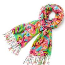 Nwt Lilly Pulitzer Murfee Scarf in Multi Lulu With Gift Box Photo