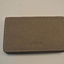 nwt.lodis Fossil Grey Color Leather Shell Card Case Holder Photo