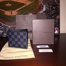 Nwt Louis Vuitton Damier Graphite Multiple Wallet Photo