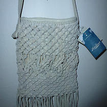 Nwt-Lucky Brand Popular Designer Fringed Leather Shoulder/crossbody Bag Photo