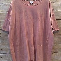 Nwt Lularoe Irma Tunic Large Heather Blush Photo