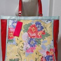 Nwt Lulu Australia Retro New Yorker Style Handbag Tote Shopper Shoulder Bag  Photo