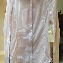 Nwt Lululemon Pedal Power Wind Shirt Jacket Top  Sz 2 Neutral Blush Windbreaker Photo