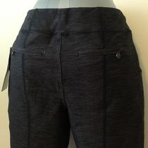 Nwt Lululemon Presence of Mind Crop Heather Black Pants Size 6 Photo