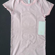 Nwt Lululemon Run Swiftly Tech Ss Blush Quartz Light Pink (Size 04) Photo