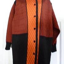 Nwt M Missoni  Multicor Colorblock Coat -Size S Photo
