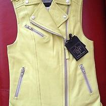 Nwt Mackage Frederica Genuine Leather Vest Jacket Size M Retail 450  Tax Photo