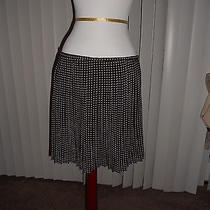 Nwt Madewell 1937 Mini-Houndstooth Skirt True Black Size 10 Photo