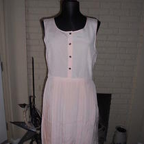 Nwt Madewell 1937 Silk Pleated Shirtdress in Beautiful Blush  Size 6 Photo
