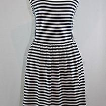 Nwt Madewell Afternoon Dress in Textured Stripe - Large - Sold Out Photo