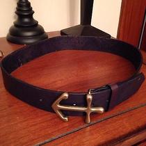 Nwt Madewell Anchor Buckle Belt Sz S Photo