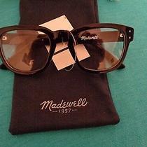 Nwt Madewell Book Club Sunglasses Black One Size Photo