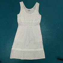Nwt Madewell Eyelet Lovesong Dress Size 4 98 in White Photo