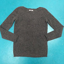 Nwt Madewell Gamine Sweater Xs in Charcoal Gray Wool 74 Photo