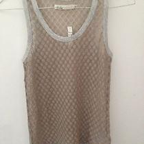 Nwt Madewell Hi Line Sleeveless Purple See Through Tank Top Sz S Photo