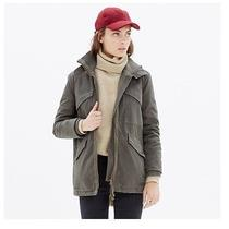 Nwt - Madewell - Modern Military Jacket - Size Small - Olive Green Photo