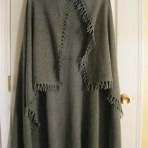 Nwt Magaschoni 100% Cashmere Peppermint Mouline Shawl Wrap Scarf Fringe 404 Photo