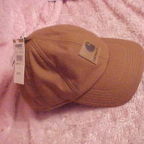 Nwt Mans Carhartt Hat  Gold  With Ear Flaps Photo