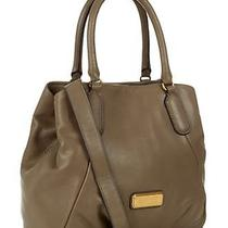 Nwt Marc by Marc Jacobs 458 New Q Fran Tote Bag Puma Taupe Photo
