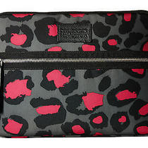 Nwt Marc by Marc Jacobs Domo Arigato Laptop Apple Mac Sleeve Leopard 13