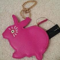Nwt Marc by Marc Jacobs Rabbit Key Chain Coin Pouch Photo