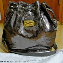 Nwt Marc by Marc Jacobs Snake on Wire Regine Bucket  Tote Hobo Bag Photo