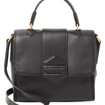 Nwt Marc Jacobs Flipping Out Leather Messenger Black Photo