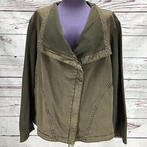 Nwt-Marrakech Anthropologie Faravel Moto Asymmetrical Zip Jacket Brown Size2x Photo