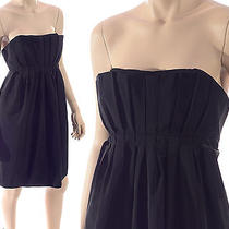 Nwt Max and Cleo Size 14 Taffeta Little Black Dress Formal Photo