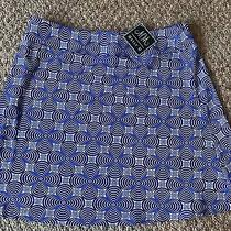 Nwt Melly M Sanibel Campbell Skirt a Line Size Large 140 Preppy Photo
