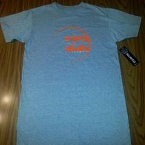 Nwt Men's Billabong T-Shirt Gray W/orange Graphics Small Photo
