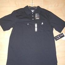 Nwt-Men's Carhartt Medium Blk Polo Shirt   19.99 Free Shipping Photo