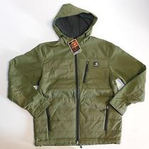 Nwt Men's Carhartt Softshell Hybrid Jacket Military Green Size Medium Photo
