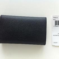 Nwt Men's Coach F69816 Lexington Saffiano Leather Ring Key Case Wallet Photo