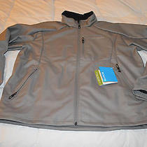 Nwt Men's Columbia Heat Mode Softshell 130 Xl Gray Photo