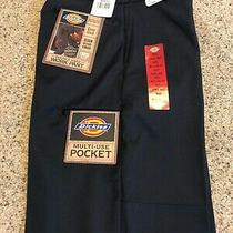 Nwt Men's Dickies Double Knee Work Pant 30x32 Dark Blue Photo