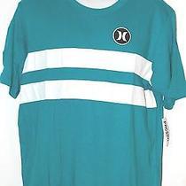 Nwt Men's Hurley Blue Premium Fit T-Shirt Size Large  Photo