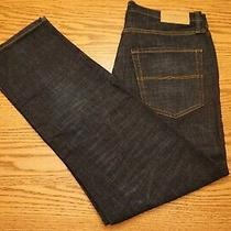 Nwt Men's Lucky Brand Jeans 223 Multiple Sizes Straight Stretch Dark Blue Photo