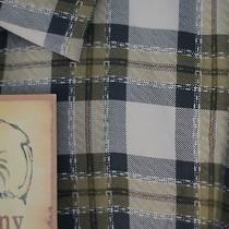 Nwt Men's Tommy Bahama Plaid to the Bone Camp Shirt 100% Silk Size L Large Photo