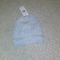 Nwt Men's Tommy Hilfiger Gray Cable Knit Hat  O/s Photo