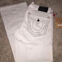 Nwt Men's True Religion Jeans Sz34 Billy- Graphite Retail 216 Photo