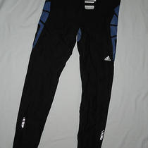 Nwt Mens Adidas Tech Fit Recovery   Tights Pants Climacool  Large  Black Photo