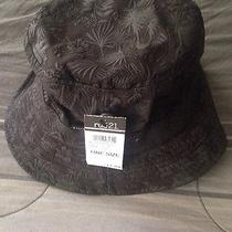 Nwt Mens Carbon Elements Black Bucket Fisherman Hat Cap One Size Photo